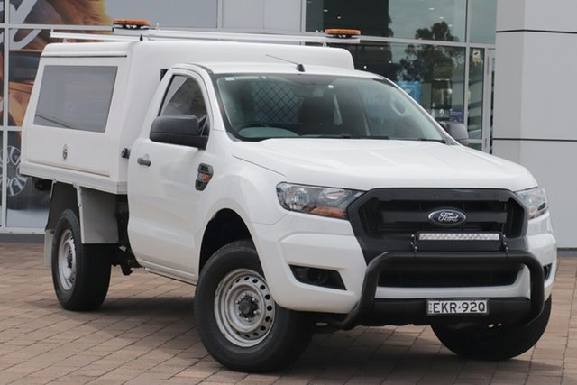 Discounted Used Ford Ranger XL Hi-Rider, Warwick Farm, 2017 Ford Ranger XL Hi-Rider Cab Chassis