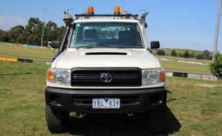 2008 Toyota Landcruiser Workmate Cab Chassis.
