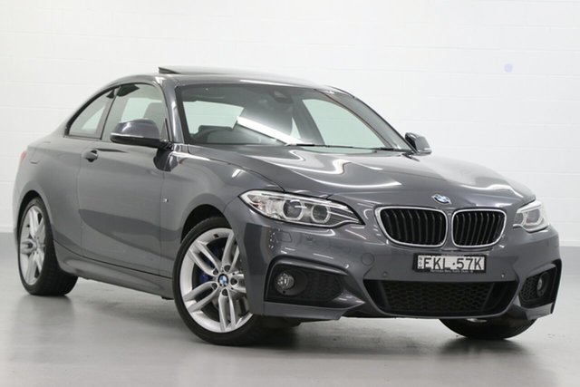 Used BMW 2 Series 230i M Sport, Narellan, 2016 BMW 2 Series 230i M Sport Coupe