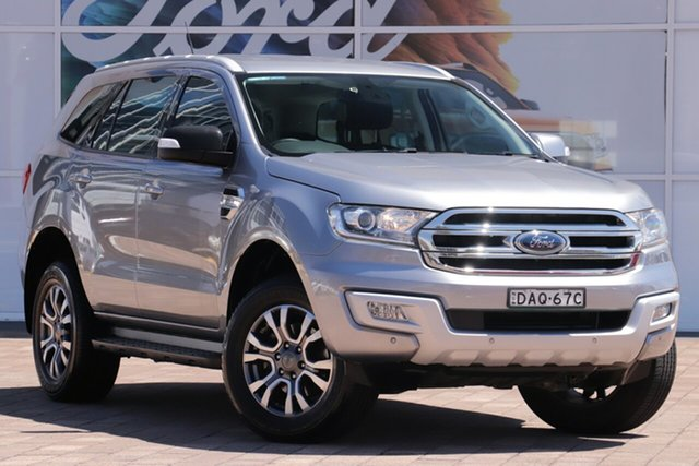 Used Ford Everest Trend, Warwick Farm, 2015 Ford Everest Trend SUV