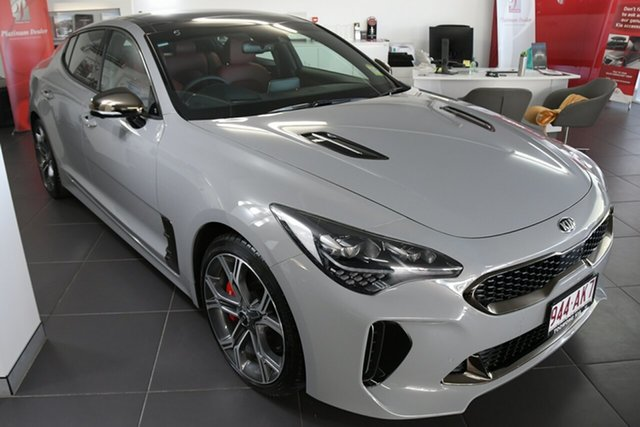 Demonstrator, Demo, Near New Kia Stinger GT Fastback Night Sky Edition, Toowong, 2020 Kia Stinger GT Fastback Night Sky Edition Sedan