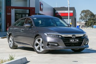 Demonstrator, Demo, Near New Honda Accord VTi-LX E-CVT, Springvale, 2019 Honda Accord VTi-LX E-CVT 10th Gen MY19 Sedan