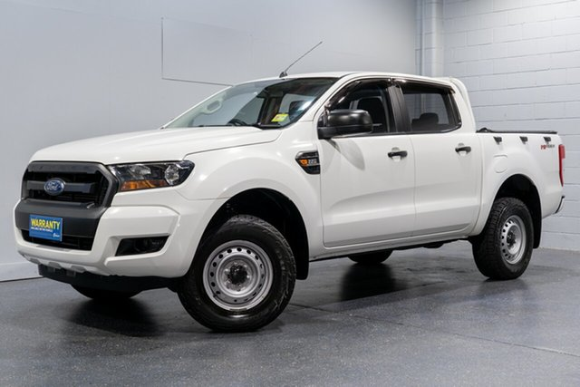 Used Ford Ranger XL 2.2 Hi-Rider (4x2), Slacks Creek, 2015 Ford Ranger XL 2.2 Hi-Rider (4x2) Crew Cab Pickup