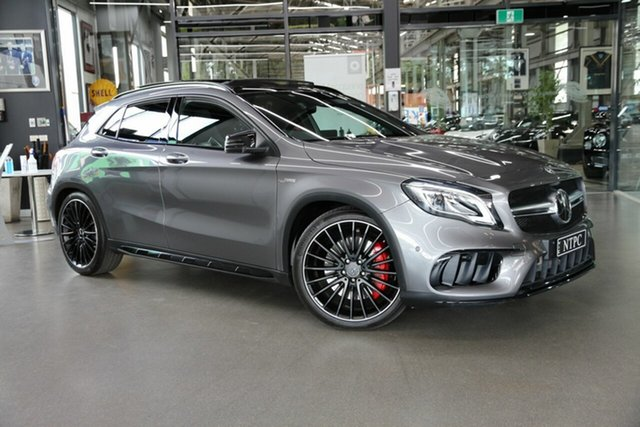 Used Mercedes-Benz GLA-Class GLA45 AMG SPEEDSHIFT DCT 4MATIC, North Melbourne, 2018 Mercedes-Benz GLA-Class GLA45 AMG SPEEDSHIFT DCT 4MATIC Wagon