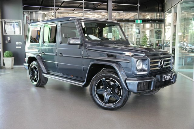 Used Mercedes-Benz G-Class G350 d 7G-Tronic + 4MATIC, North Melbourne, 2017 Mercedes-Benz G-Class G350 d 7G-Tronic + 4MATIC Wagon