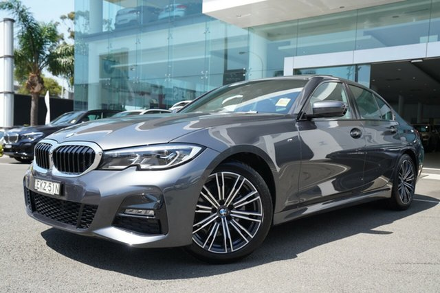 Demonstrator, Demo, Near New BMW 320i M Sport, Brookvale, 2020 BMW 320i M Sport Sedan