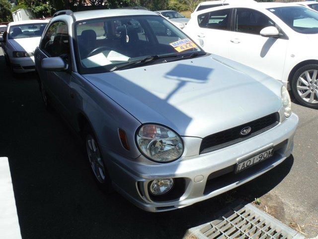 Used Subaru Impreza RV (AWD), East Lismore, 2002 Subaru Impreza RV (AWD) MY02 Hatchback