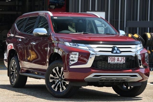 Demonstrator, Demo, Near New Mitsubishi Pajero Sport GLS, Bowen Hills, 2020 Mitsubishi Pajero Sport GLS Wagon
