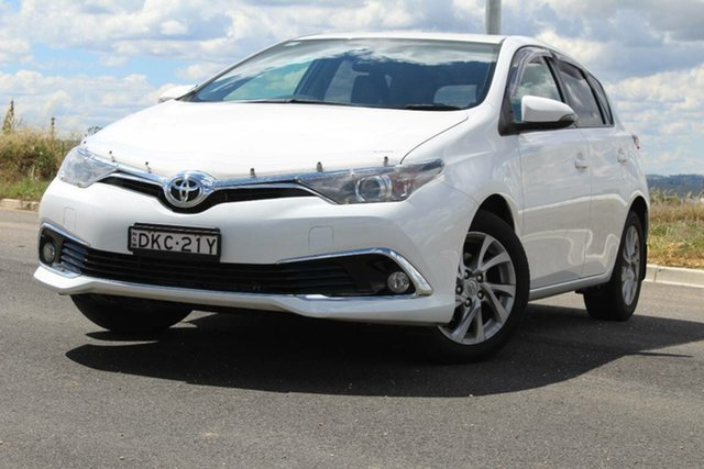 Used Toyota Corolla Ascent Sport, Bathurst, 2016 Toyota Corolla Ascent Sport Hatchback