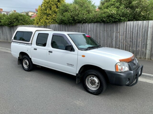 Used Nissan Navara DX (4x2), North Hobart, 2003 Nissan Navara DX (4x2) Dual Cab Pick-up