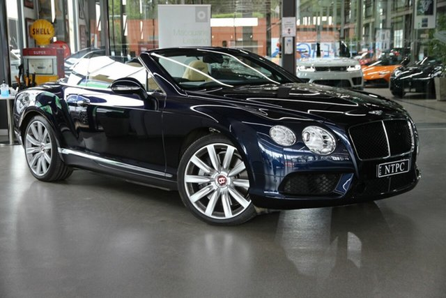 Used Bentley Continental GTC V8, North Melbourne, 2012 Bentley Continental GTC V8 Convertible