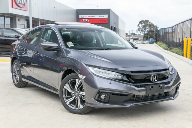 Demonstrator, Demo, Near New Honda Civic VTi-LX, Springvale, 2020 Honda Civic VTi-LX 10th Gen MY20 Sedan
