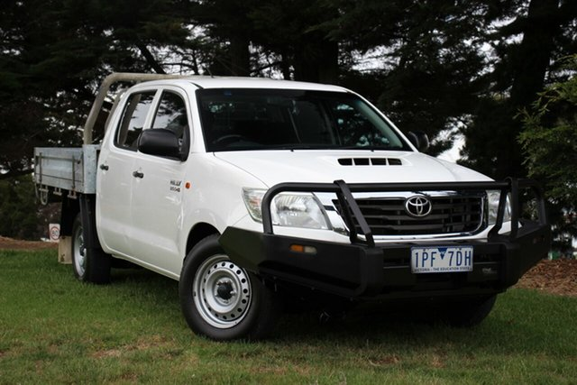 Used Toyota Hilux SR Double Cab 4x2, Officer, 2014 Toyota Hilux SR Double Cab 4x2 Utility