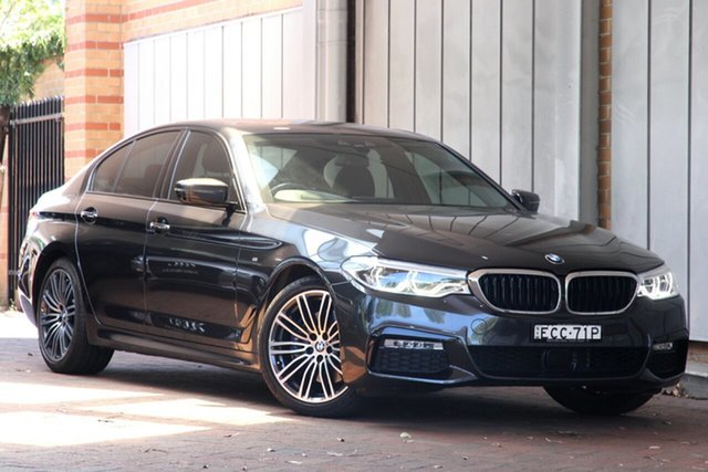 Used BMW 5 Series 530i Steptronic M Sport, Artarmon, 2017 BMW 5 Series 530i Steptronic M Sport Sedan