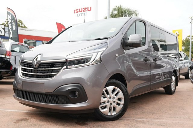 Demonstrator, Demo, Near New Renault Trafic L2 LWB Crew Lifestyle (125kW), Brookvale, 2020 Renault Trafic L2 LWB Crew Lifestyle (125kW) Crew Van