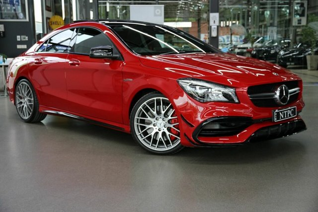 Used Mercedes-Benz CLA-Class CLA45 AMG SPEEDSHIFT DCT 4MATIC, North Melbourne, 2018 Mercedes-Benz CLA-Class CLA45 AMG SPEEDSHIFT DCT 4MATIC Coupe