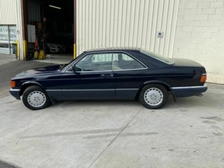 1989 Mercedes-Benz 560 SEC Coupe.