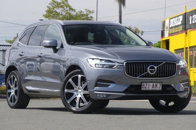 Used Volvo XC60 D4 AWD Inscription, Bowen Hills, 2018 Volvo XC60 D4 AWD Inscription Wagon