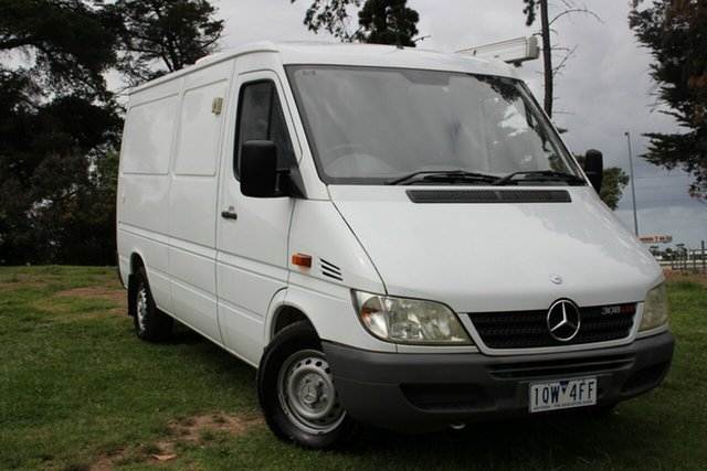 Used Mercedes-Benz Sprinter 308CDI Low Roof SWB, Officer, 2006 Mercedes-Benz Sprinter 308CDI Low Roof SWB Van