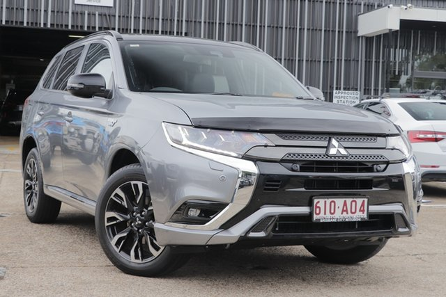 Discounted Demonstrator, Demo, Near New Mitsubishi Outlander PHEV AWD GSR, Bowen Hills, 2020 Mitsubishi Outlander PHEV AWD GSR Wagon