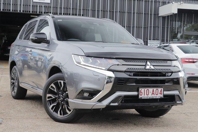 Demonstrator, Demo, Near New Mitsubishi Outlander PHEV AWD GSR, Bowen Hills, 2020 Mitsubishi Outlander PHEV AWD GSR Wagon