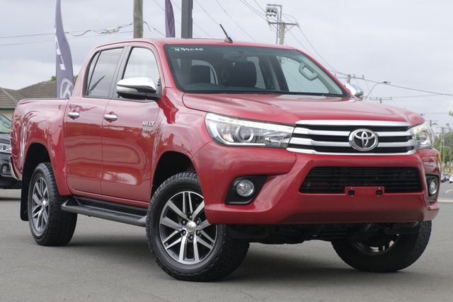 Used Toyota Hilux SR5 Double Cab, Toowong, 2016 Toyota Hilux SR5 Double Cab Utility