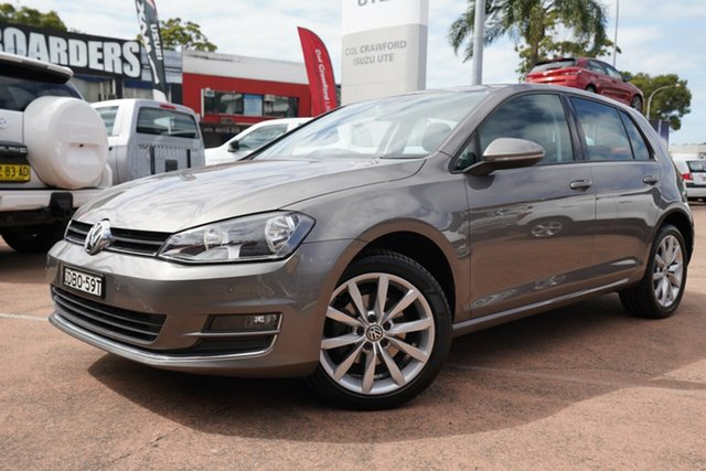 Used Volkswagen Golf 110 TDI Highline, Brookvale, 2015 Volkswagen Golf 110 TDI Highline Hatchback