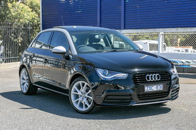 Used Audi A1 Attraction Sportback S Tronic, Oakleigh, 2013 Audi A1 Attraction Sportback S Tronic 8X MY13 Hatchback