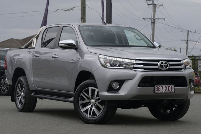 Used Toyota Hilux SR5 Double Cab, Toowong, 2017 Toyota Hilux SR5 Double Cab Utility