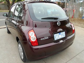 2010 Nissan Micra ST Hatchback.