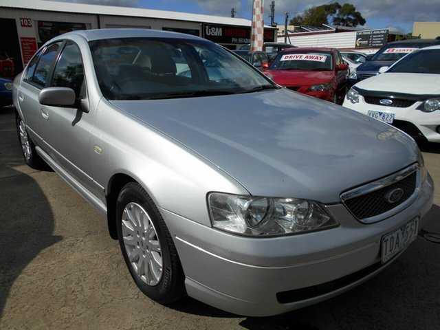 Discounted Used Ford Fairmont, Werribee, 2004 Ford Fairmont Sedan