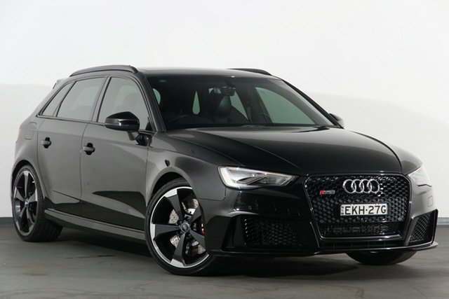 Used Audi RS 3 Sportback S Tronic Quattro, Narellan, 2016 Audi RS 3 Sportback S Tronic Quattro Hatchback