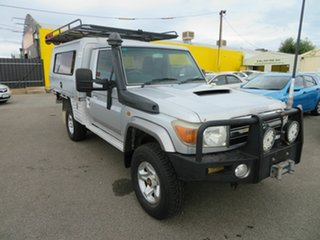 2008 Toyota Landcruiser GXL (4x4) Cab Chassis.