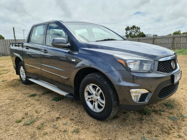 Used Ssangyong Actyon Sports SX 4x2, Warrnambool East, 2013 Ssangyong Actyon Sports SX 4x2 Utility