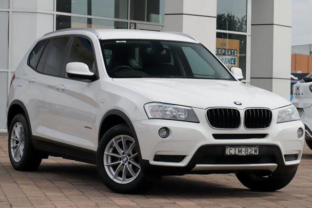 Discounted Used BMW X3 xDrive20d Steptronic, Warwick Farm, 2012 BMW X3 xDrive20d Steptronic SUV