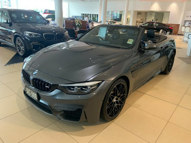 Demonstrator, Demo, Near New BMW M4 Competition, Brookvale, 2020 BMW M4 Competition Convertible