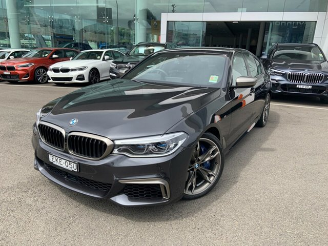 Demonstrator, Demo, Near New BMW M550i xDrive, Brookvale, 2020 BMW M550i xDrive Sedan