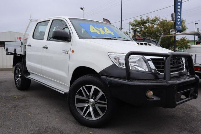 Used Toyota Hilux SR Double Cab, Moorooka, 2014 Toyota Hilux SR Double Cab Cab Chassis