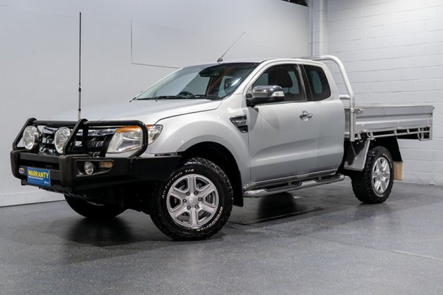 Used Ford Ranger XLT 3.2 (4x4), Slacks Creek, 2012 Ford Ranger XLT 3.2 (4x4) Super Cab Utility