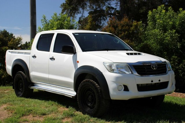 Used Toyota Hilux SR Double Cab, Officer, 2015 Toyota Hilux SR Double Cab Utility