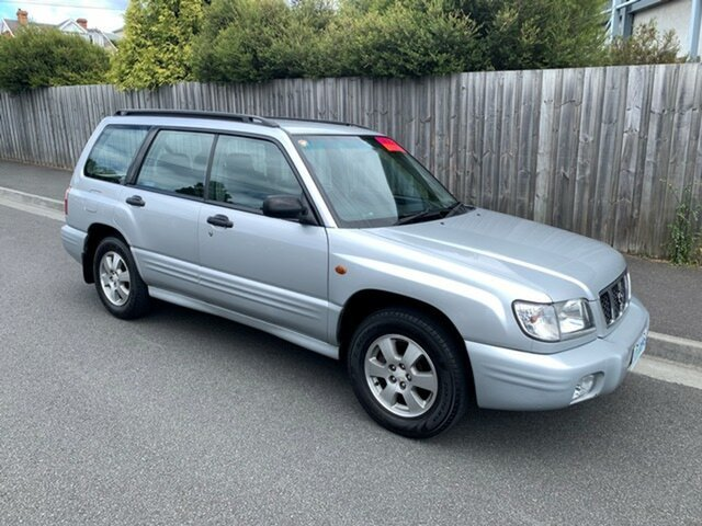 Used Subaru Forester Limited, North Hobart, 2002 Subaru Forester Limited Wagon