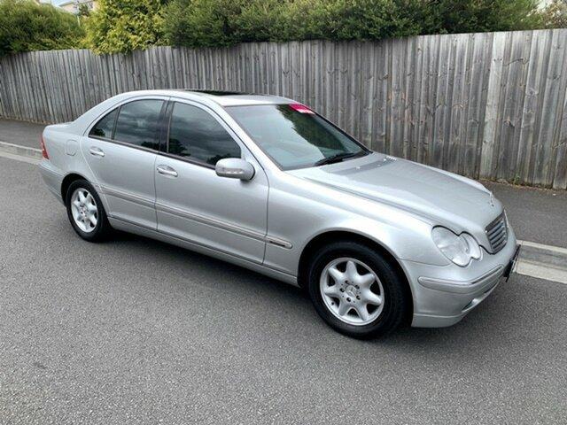 Used Mercedes-Benz C200 Kompressor Classic, North Hobart, 2002 Mercedes-Benz C200 Kompressor Classic Sedan