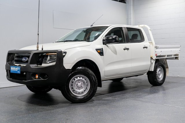 Used Ford Ranger XL 3.2 (4x4), Slacks Creek, 2013 Ford Ranger XL 3.2 (4x4) Dual Cab Chassis