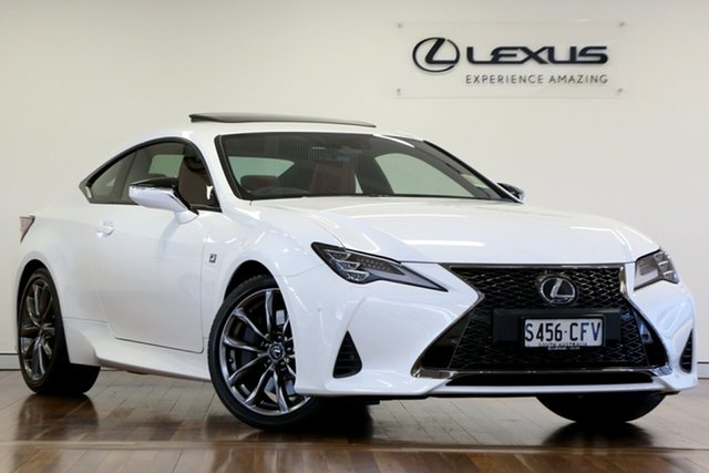 Demonstrator, Demo, Near New Lexus RC RC300 F Sport, Adelaide, 2020 Lexus RC RC300 F Sport Coupe
