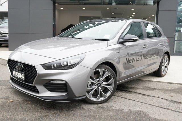 Demonstrator, Demo, Near New Hyundai i30 N Line D-CT Premium, Brookvale, 2020 Hyundai i30 N Line D-CT Premium Hatchback