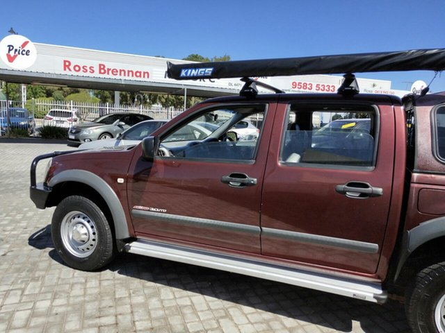 Used Holden Rodeo LX (4x4), Mandurah, 2005 Holden Rodeo LX (4x4) RA Crew Cab Chassis