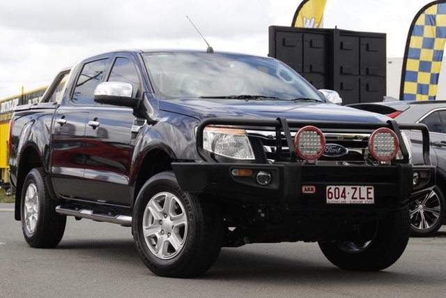 Used Ford Ranger XLT Double Cab 4x2 Hi-Rider, Bowen Hills, 2015 Ford Ranger XLT Double Cab 4x2 Hi-Rider Utility