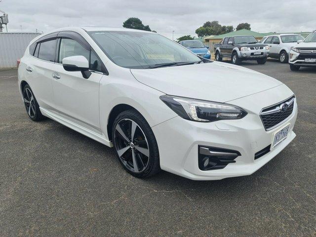 Used Subaru Impreza 2.0i-S CVT AWD, Warrnambool East, 2017 Subaru Impreza 2.0i-S CVT AWD Hatchback
