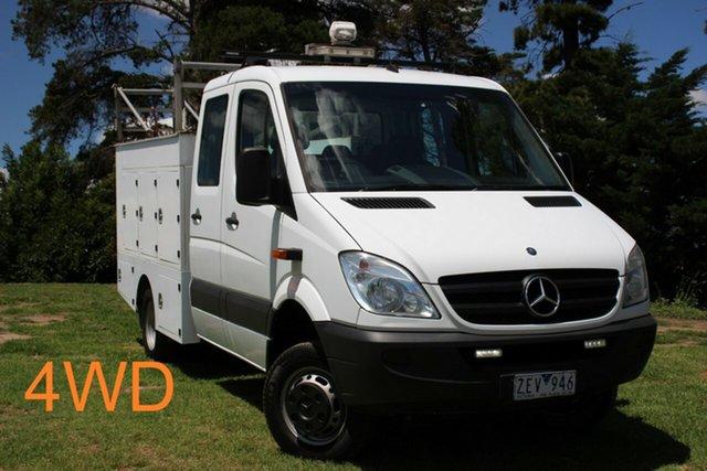 Used Mercedes-Benz Sprinter 516CDI LWB, Officer, 2012 Mercedes-Benz Sprinter 516CDI LWB Cab Chassis