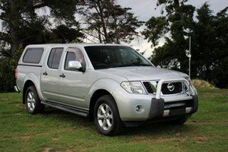 2013 Nissan Navara ST-X 550 Utility.